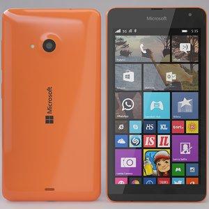 microsoft lumia 535 orange max