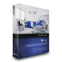 CGAxis Models Volume 55 3D Medical