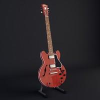 gibson guitar obj