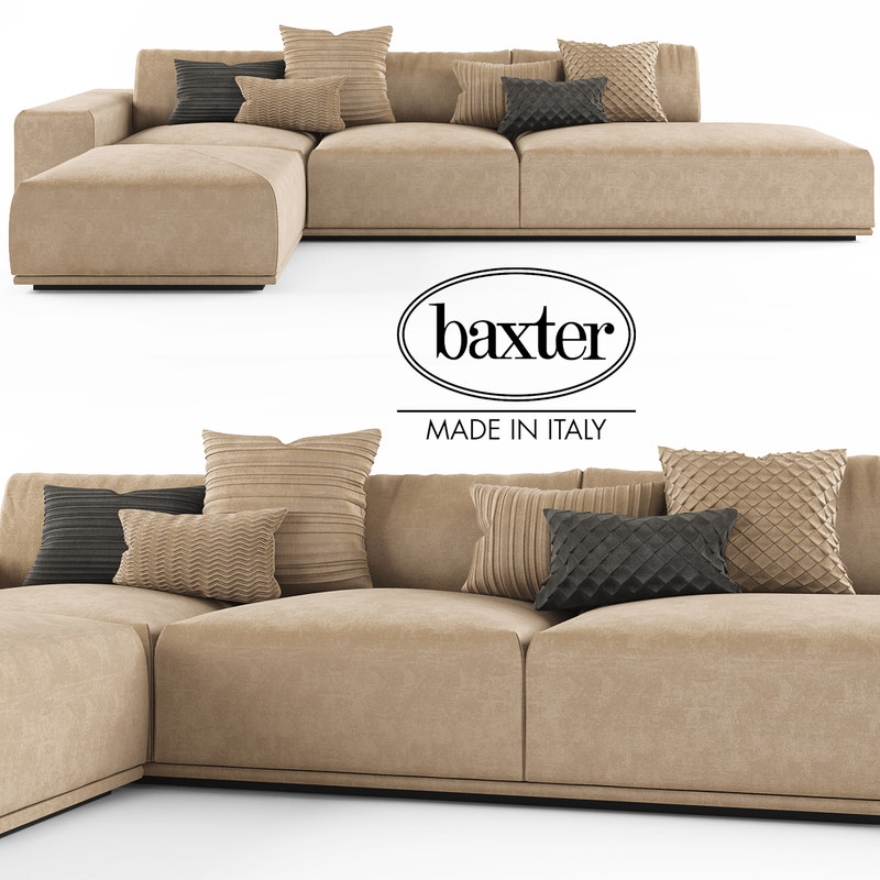 sofa baxter monsieur max