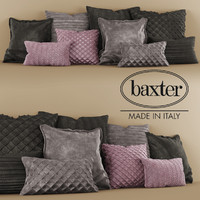 pillow baxter 3d obj