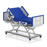 3d advanced hospital bed model
