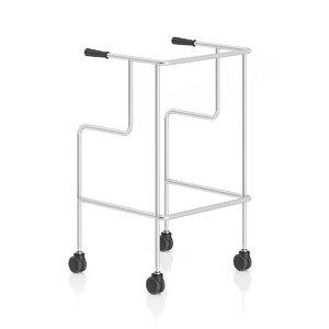 3d max metal rehabilitation walker