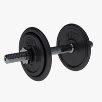 dumbbell weight c4d
