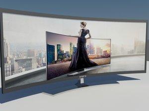 samsung tv 3d model