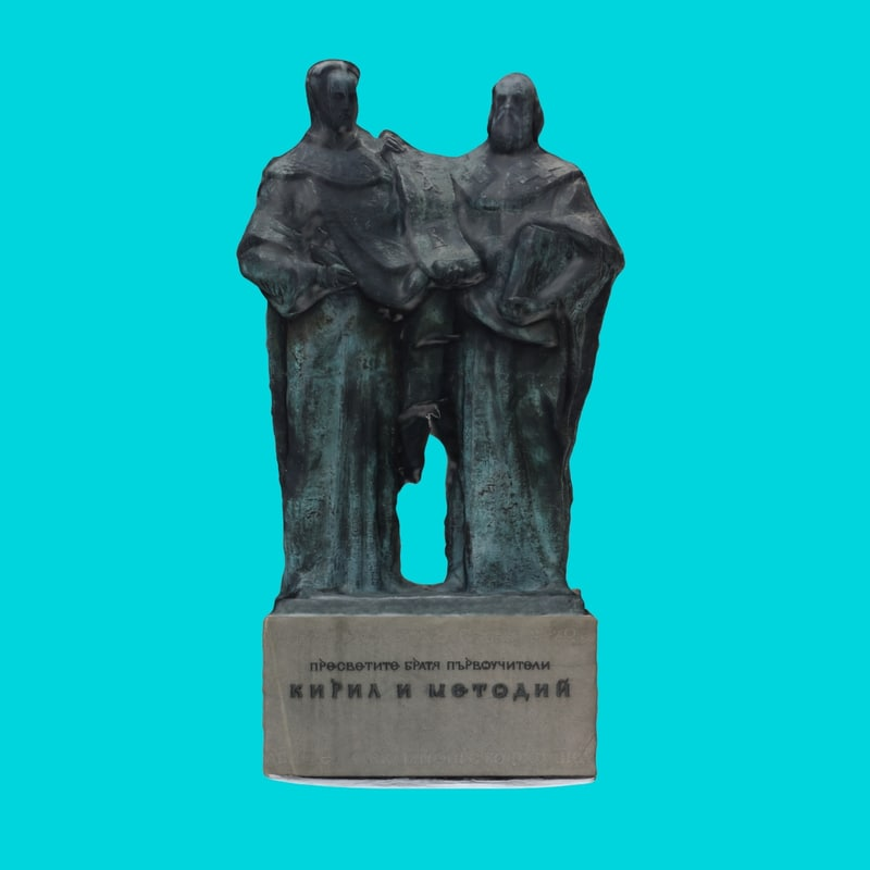 3d st cyril methodius model