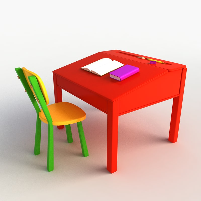 max cartoon desk chair