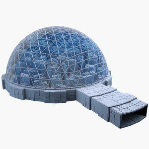 3d max dome city mht-07
