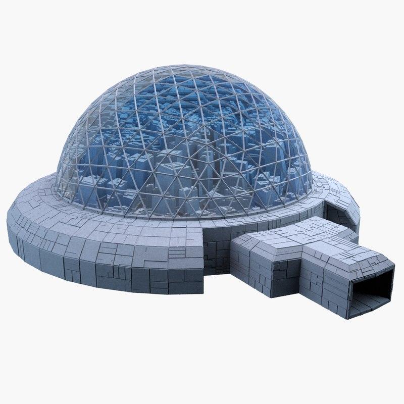 dome city mht-08 3d model