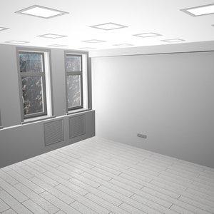 3d model room office