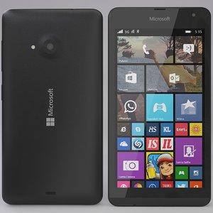microsoft lumia 535 black max