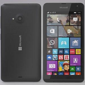 3ds max microsoft lumia 535 gray