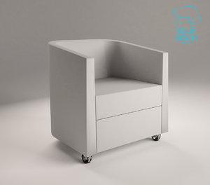modern chair domo arcadia max