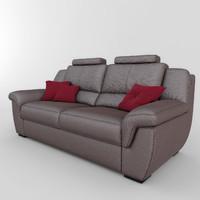 sofa adel 01 3d model