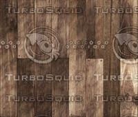 Dark Wooden Boards Seamless Texture