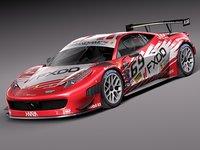2014 car race 3d model