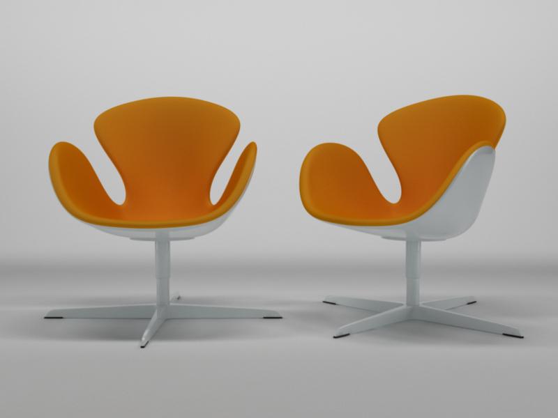 cinema4d chair 1