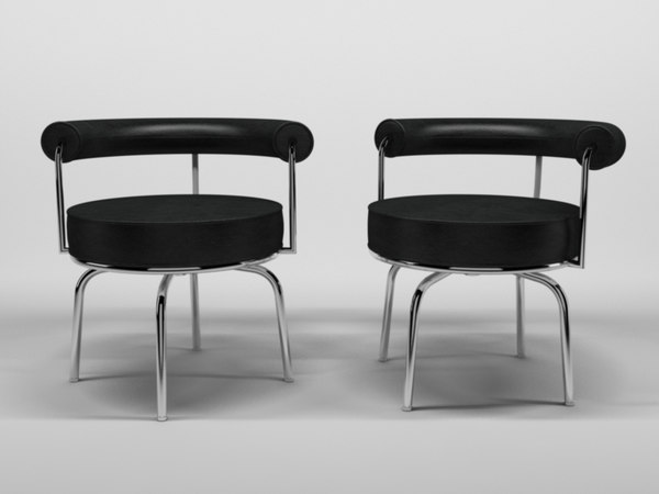 c4d le corbusier chair 1