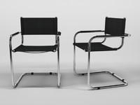 3d model chair 1 12