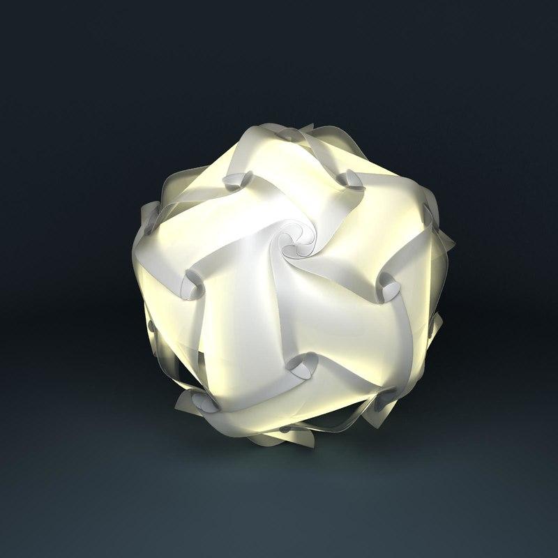 3d light holger strøm model