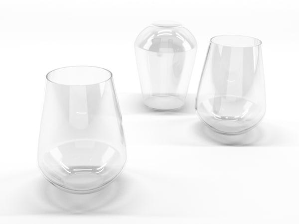 3d c4d glass