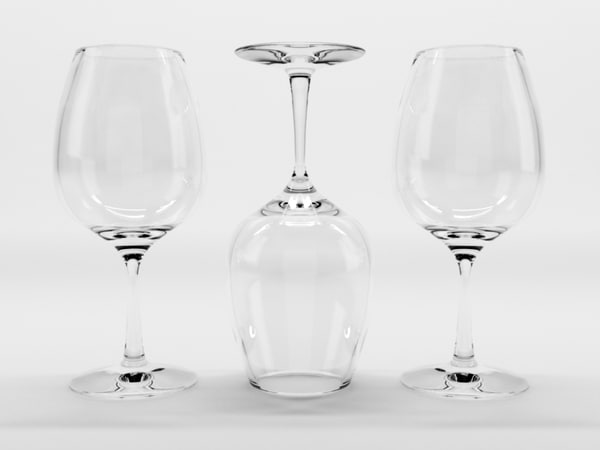 wine glass 1 3d c4d
