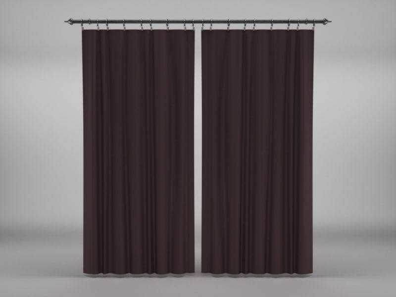 curtains 1 c4d
