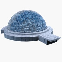 3ds max dome city mht-09