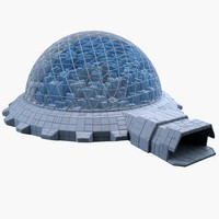 3d dome city mht-10 model