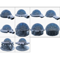 3d model dome city mht pack-01