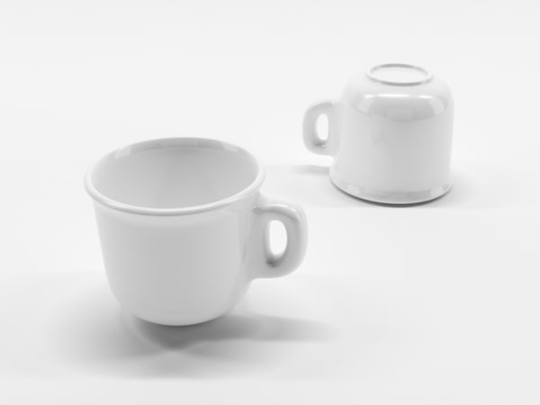 coffee cup 1 3d c4d