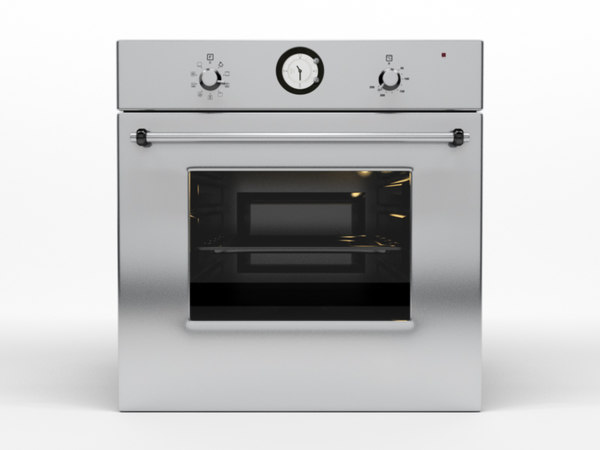 3d model kitchen hood 1