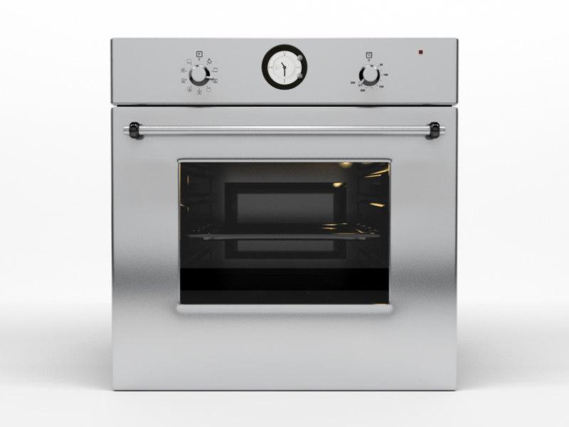 3d model kitchen hood 1