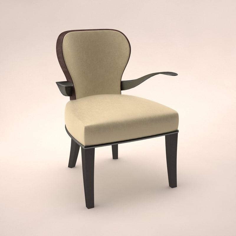 3d armchair promemoria roka