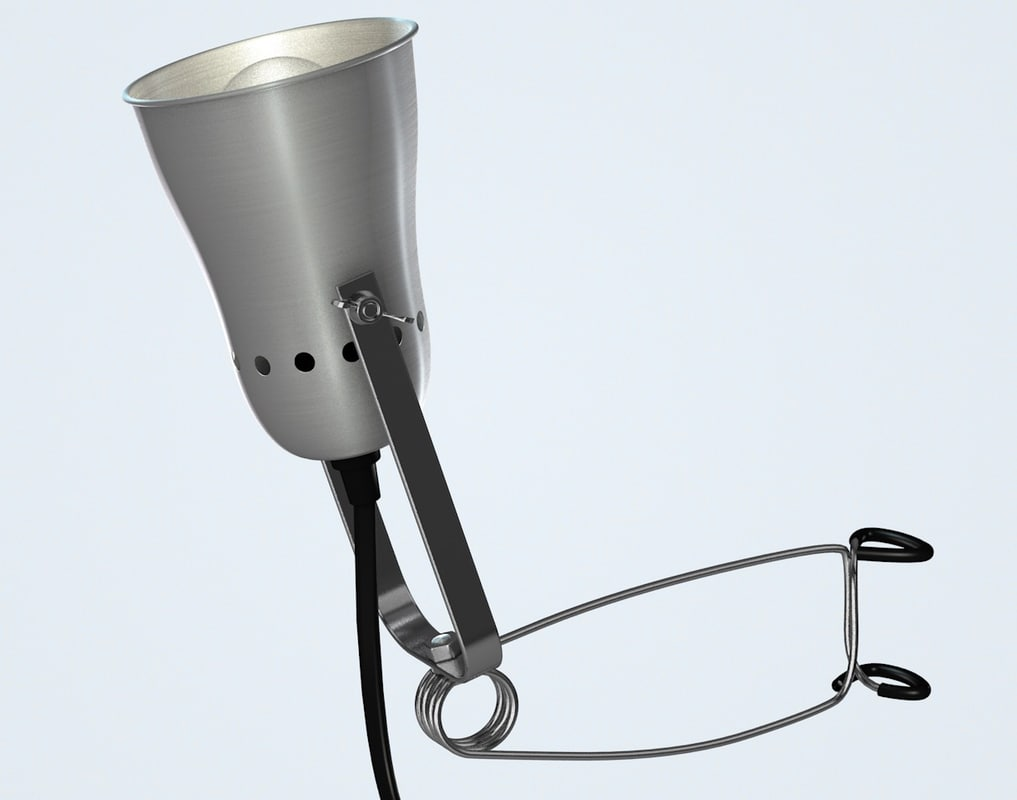 clamp light 3d c4d