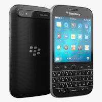 blackberry classic 3d max