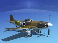 dwg p-51d force