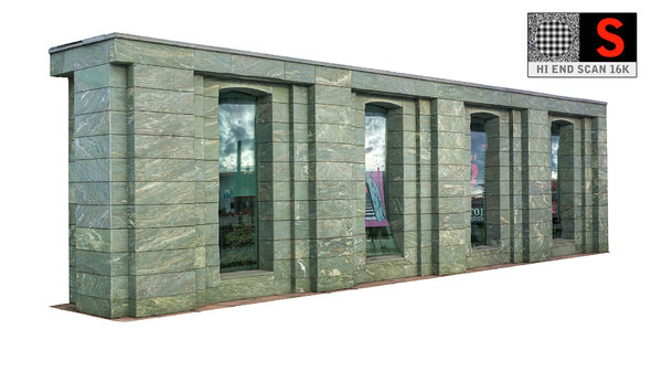 marble facade scan 3d max