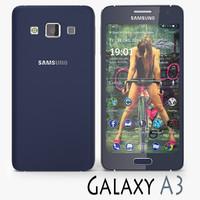 Samsung Galaxy A3 Black