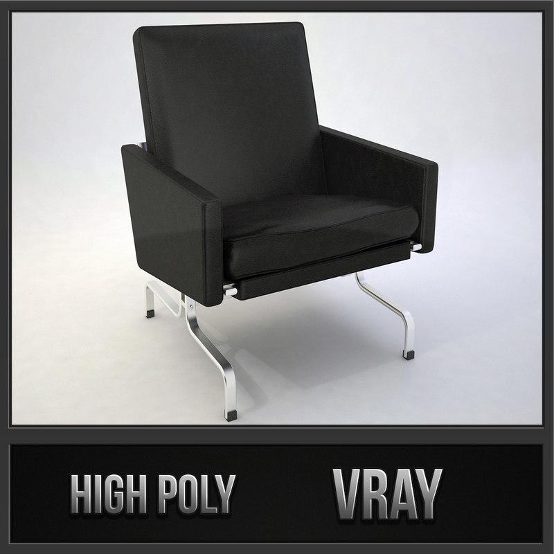 pk31 design chair pk 3d max