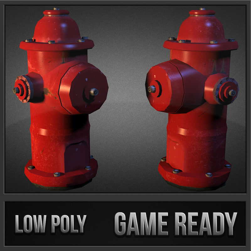 hydrant enviroments 3d dxf