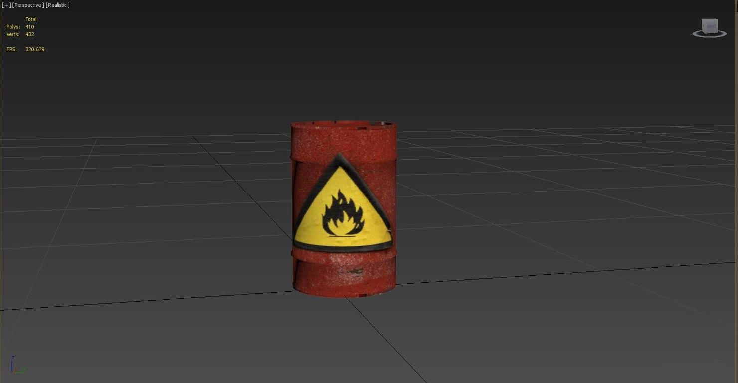 explosive barrel max