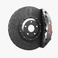 3d model alcon ccx brakes