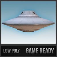 3d flying saucer - sport model