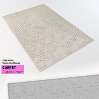 carpet STAR WOOL Helen Amy Murray
