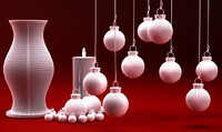 candelite vase christmas set max