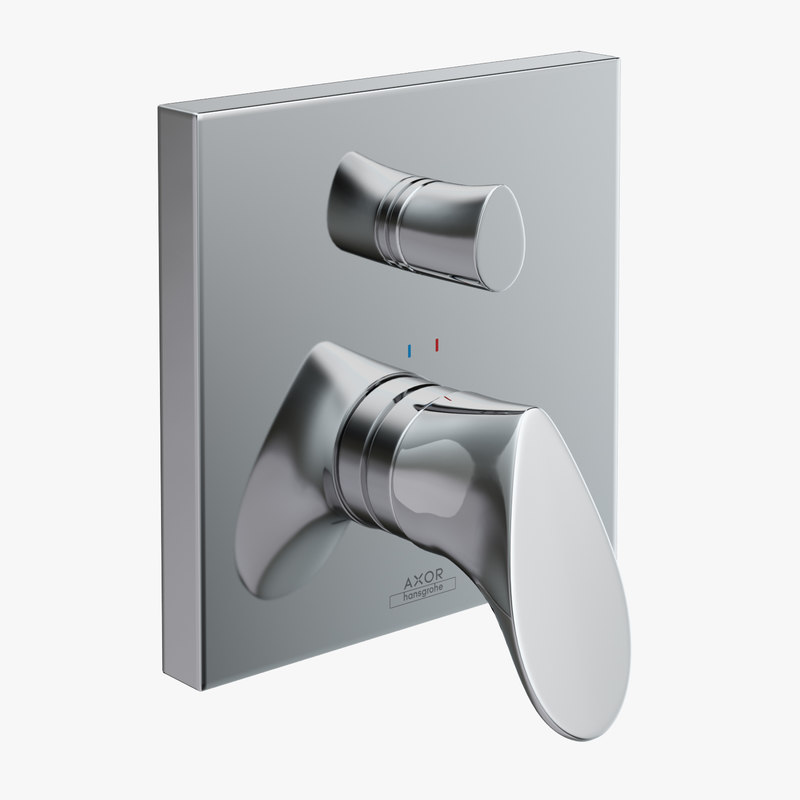 3d model bath hansgrohe axor starck