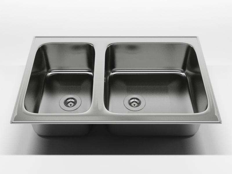kitchen sink 1 c4d