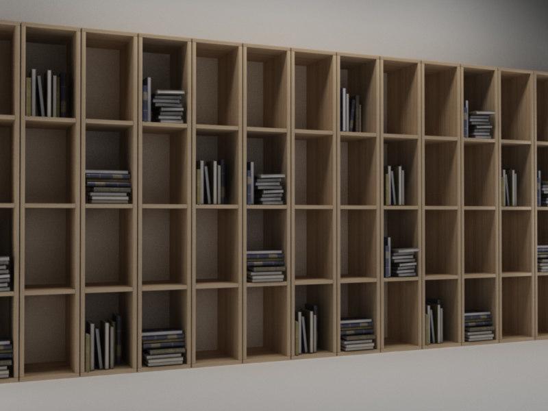 library 1 3d c4d