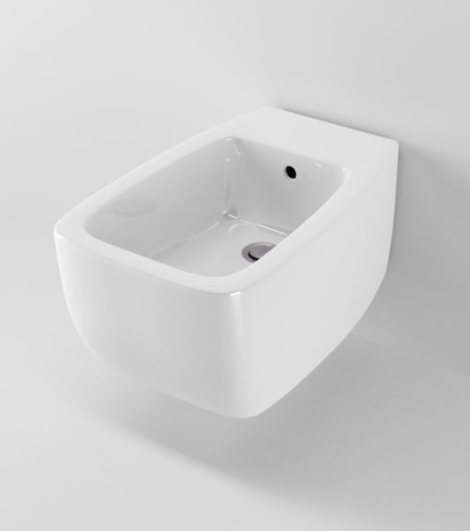 3d model of ideal standard 21 bidet